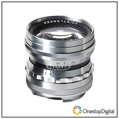 Voigtlander 50mm f/1 5 Nokton Aspherical for Leica M-Mount (Silver)